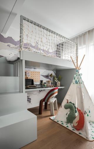 混搭風三居室兒童房裝修效果圖