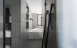现代风格别墅卫生间装修效果图