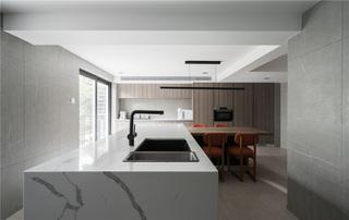 现代风格别墅厨房装修效果图