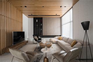 现代风格别墅客厅装修效果图