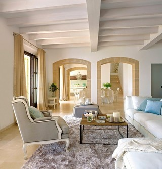 清新簡歐地中海風情 海邊小別墅裝飾