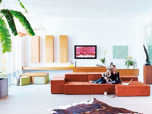 现代美式设计别墅装修图片