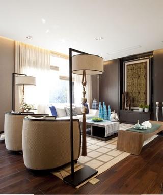 东南亚风情复式室内装饰图