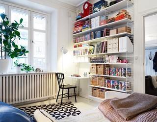 38平清新文艺北欧风 单身公寓设计