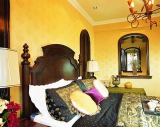 古朴东南亚风情别墅精装设计