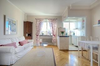 浪漫简欧式单身公寓效果图
