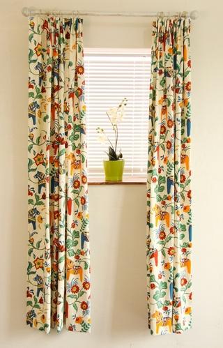 碎花田园风窗帘效果图 给家居添色彩