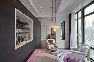 78平現代美式風格公寓實景圖