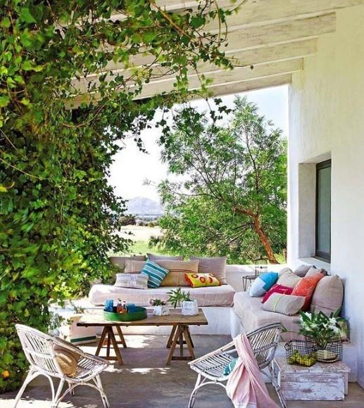花园阳台设计案例图片大全欣赏