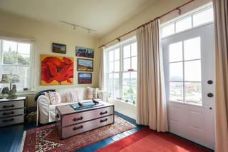 宜家风格客厅窗帘搭配