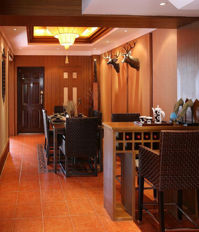 东南亚风格餐厅装潢案例欣赏