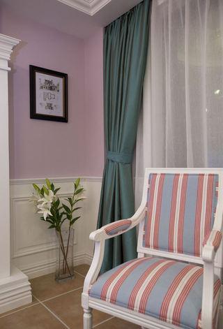 唯美美式家居布艺窗帘装饰