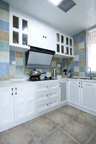 简约地中海风格厨房装修