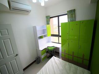清新果绿色现代风 儿童房衣柜效果图