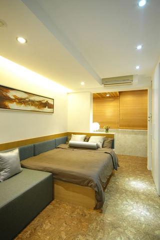 和风日式设计卧室装修图