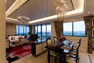 奢华欧式新古典 客餐厅装饰图