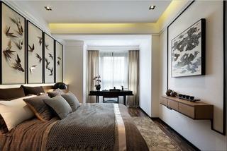 儒雅新中式卧室装饰大全