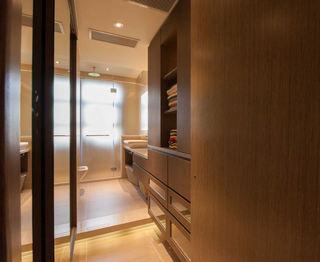 时尚现代卫生间玻璃门隔断