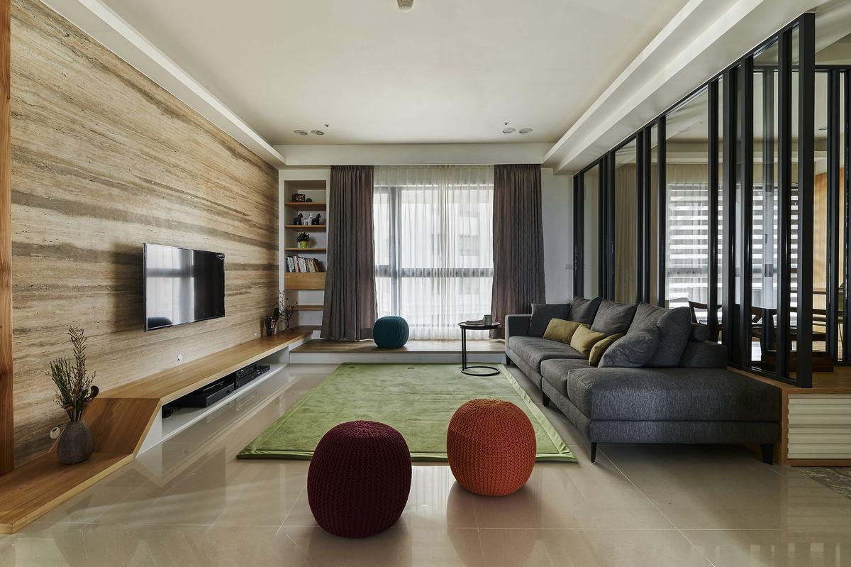 宜家风格二居客厅效果图