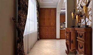 华丽复古美式玄关装饰大全欣赏