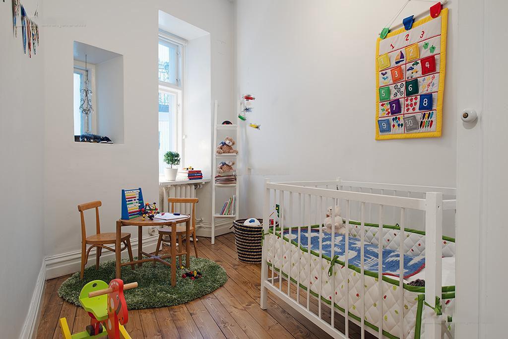 北欧风小户型儿童房图片