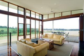 时尚现代山野别墅景观客厅设计