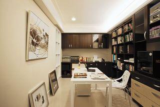 现代混搭家居书房装修案例图