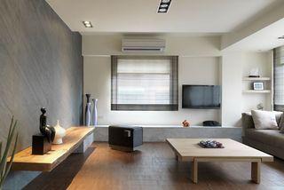 淡雅简洁日式客厅设计