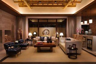 精致东南亚风情客厅装饰大全