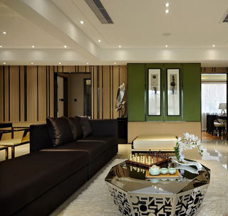 新中式风格客厅茶几鉴赏