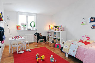 简约北欧风格儿童房装修图