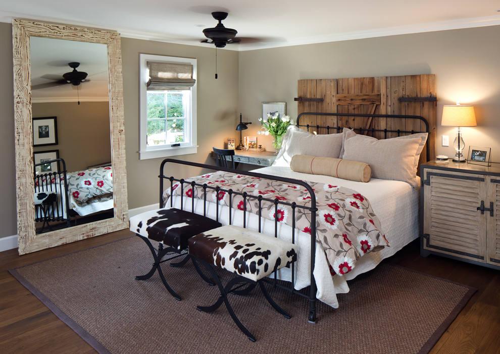 美式乡村风卧室布置效果图