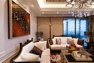 新古典客厅软装设计