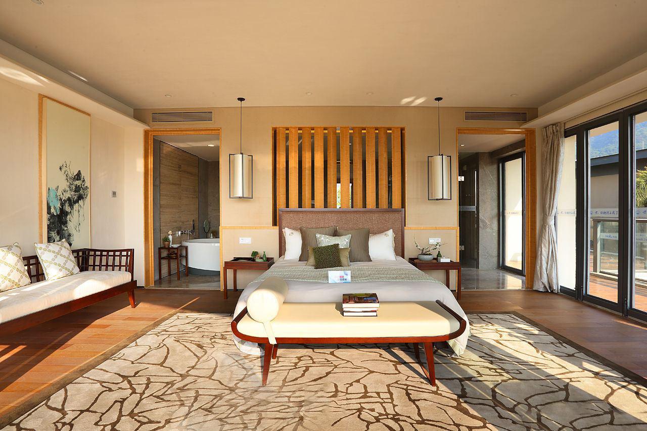 华丽东南亚风情大卧室效果图