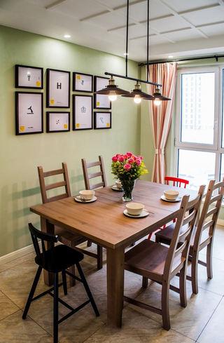 清新乡村田园风 餐厅照片墙欣赏