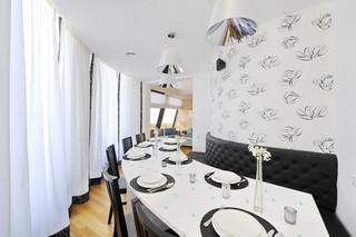 创意混搭风餐厅装饰图片