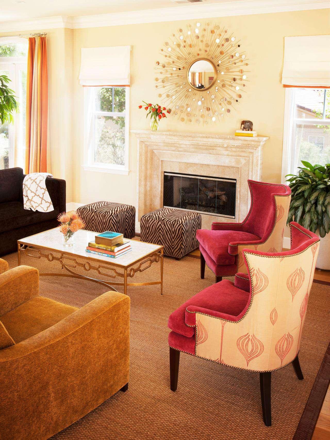 美式风格客厅背景墙装潢图