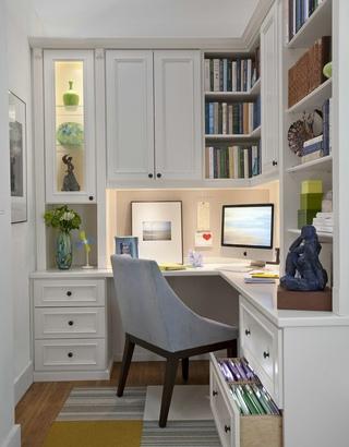 时尚家庭室内书房设计欣赏