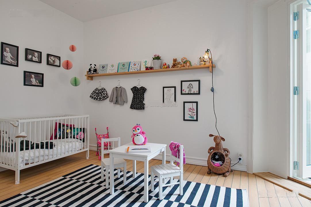 最新家居儿童房装潢案例图