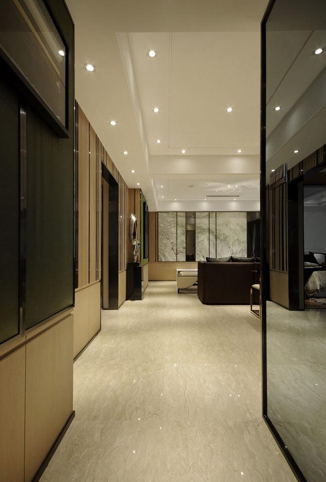 新中式风格 家居筒灯装饰效果图