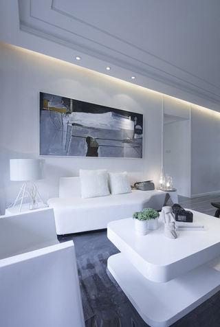 后现代客厅沙发装饰画欣赏