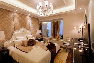 新古典风格卧室飘窗效果图
