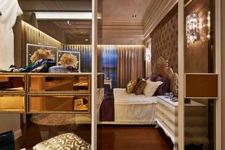 高端古典简欧风卧室隔断效果图