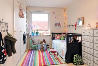 混搭风儿童房设计装修图