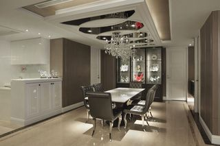 豪华新古典餐厅装饰设计