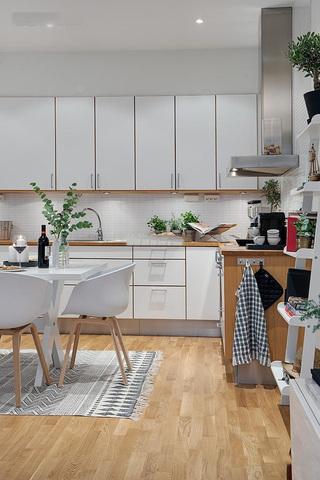 时尚简约现代风厨房橱柜效果图