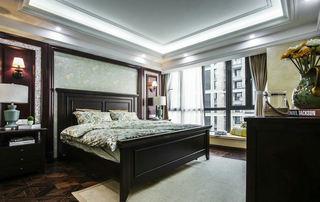 休闲乡村美式卧室背景墙欣赏