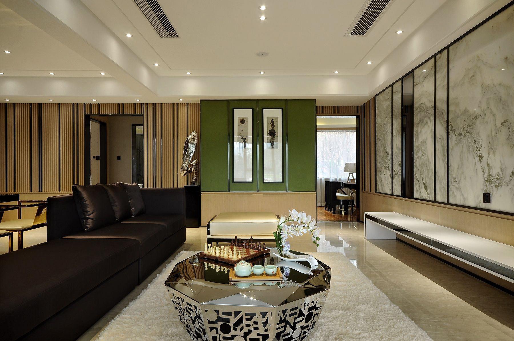 新中式风格家居室内隔断设计