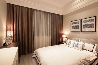 新古典卧室窗帘装饰欣赏