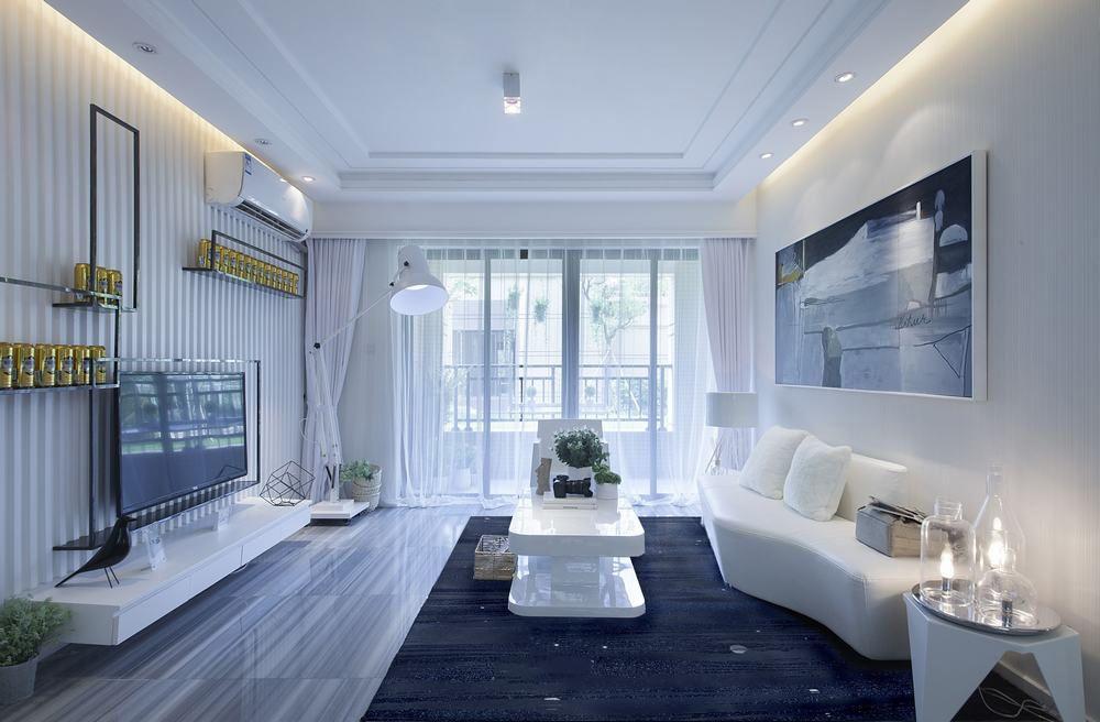 优雅简约后现代客厅效果图大全